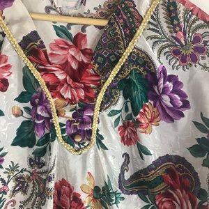 Intimates & Sleepwear - VINTAGE | Floral Nightgown Pajamas